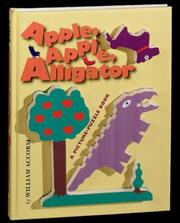 Cover of: Apple, apple, alligator
