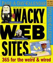 Cover of: Wacky Web Sites Page-A-Day Calendar 2007 | Workman Publishing Company