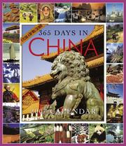 Cover of: 365 Days in China Calendar 2007
