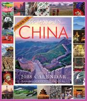 Cover of: 365 Days in China Calendar 2008 (Picture-A-Day Wall Calendars)