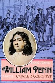 Cover of: William Penn: Quaker colonist