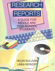 Cover of: Research Reports Middle & High | Helen Sullivan