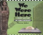Cover of: We were here