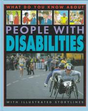Cover of: People with disabilities