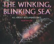 Cover of: Winking, Blinking Sea