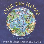 Cover of: Our big home: an earth poem
