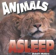 Cover of: Animals Asleep