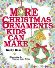 Cover of: More Christmas Ornaments Kids |