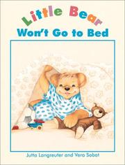 Cover of: Little Bear won't go to bed