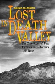 Cover of: Lost in Death Valley: the true story of four families in California's gold rush
