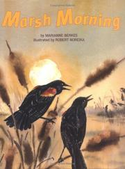 Cover of: Marsh Morning | Marianne Berkes