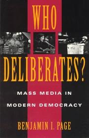 Cover of: Who deliberates?