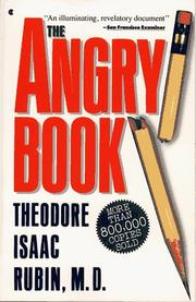 The angry book by Theodore Isaac Rubin