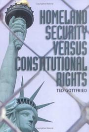 Cover of: Homeland security versus constitutional rights