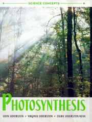 Cover of: Photosynthesis