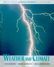 Cover of: Weather and climate