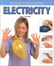 Cover of: Electricity (Science Experiments)