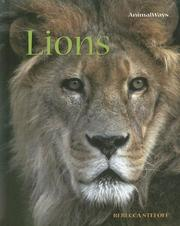 Cover of: Lions (Animalways)