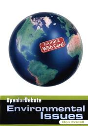 Cover of: Environmental issues