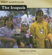 Cover of: The Iroquois (First Americans (Benchmark Books (Firm)).)