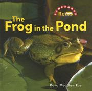 Cover of: The frog in the pond