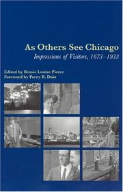 Cover of: As others see Chicago