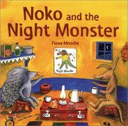 Cover of: Noko and the Night Monster