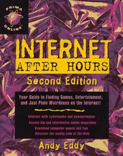 Cover of: Internet after hours