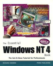 Cover of: The essential Windows NT book