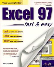 Cover of: Excel 97 | Stevenson, Nancy