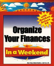 Cover of: Organize your finances with Quicken Deluxe 98 in a weekend
