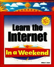 Cover of: Learn the Internet in a weekend