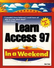 Cover of: Learn Access 97 in a weekend