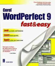 Cover of: Corel WordPerfect 9
