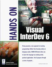 Cover of: Hands on Visual InterDev 6