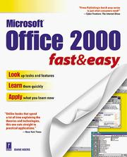 Cover of: Office 2000 fast & easy