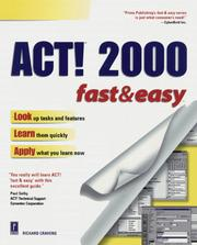 Cover of: ACT! 2000