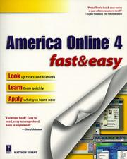 Cover of: America Online 4