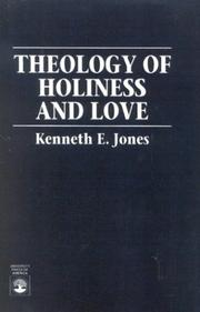 Cover of: Theology of holiness and love