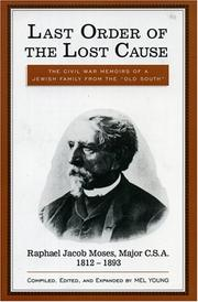 Cover of: Last order of the lost cause