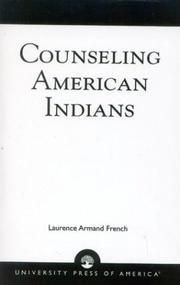 Cover of: Counseling American Indians | Laurence Armand French