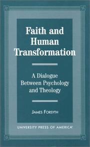 Cover of: Faith and human transformation