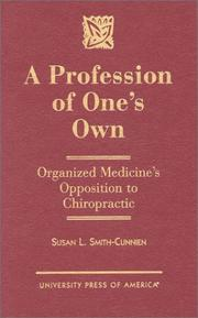Cover of: A profession of one's own