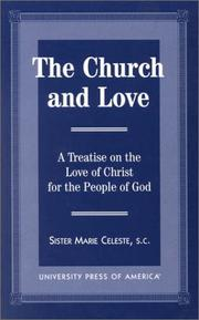 Cover of: church and love | Marie Celeste Sister, S.C.