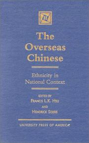 Cover of: The overseas Chinese |
