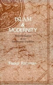 Cover of: Islam and Modernity | Fazlur Rahman
