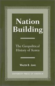 Cover of: Nation building