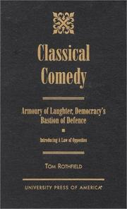 Cover of: Classical comedy