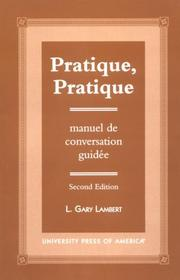 Cover of: Pratique, pratique