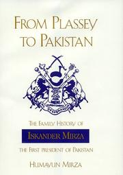 Cover of: From Plassey to Pakistan | Humayun Mirza